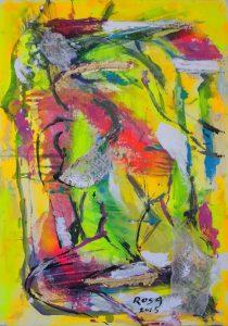 Nuda intimità, 2015 - 70x100 cm