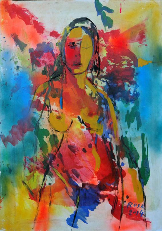 Nudo di donna, 2014 - 70x100 cm
