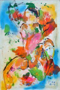 Nudo, 2014 - 80x120 cm