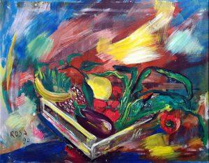 Natura morta, 1994 - 100x80