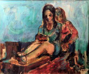 Noia, 1970 - 60x50 cm
