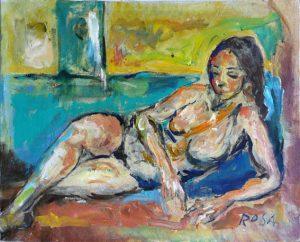 Nudo, 1988 - 49,5x40 cm