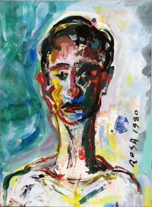 Ritratto di ignoto, 1980 - 29,5x40