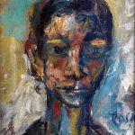 Ritratto di ignoto, 1983 - 22x275 cm