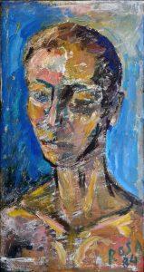 Ritratto di ignoto, 1984 - 26,5x50 cm