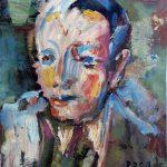 Ritratto di ignoto, 1984 - 26x32 cm