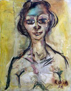 Ritratto di ignota, 1978 - 35x45 cm