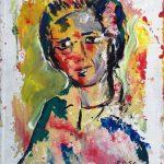 Ritratto di ignoto, 1990 - 41x50 cm