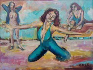 Nadia Vasil, 1982 - 90×70 cm