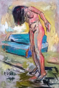 Nudo, 1984 - 70x100
