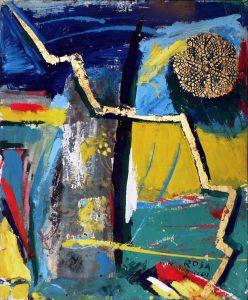 Astratto_01, 2001- 50x60 cm