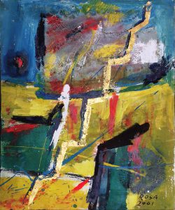 Astratto_03, 2001- 50x60 cm