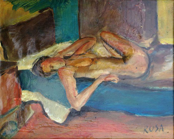 Nudo, 1980 - 50x40 cm