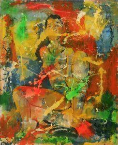 Nudo, 2011 - 88,5 x 109 cm