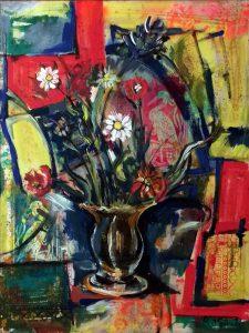 Vaso di fiori, 1996 - 90 x 120 cm