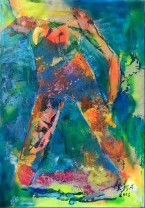 Nudo di donna, 2016 - 70x99,5 cm