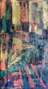 Astratto materico, 1967-140x255 cm