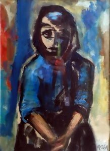 Donna ciociara, 1962 - 32x44 cm