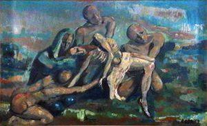 Deposizione di Cristo, 1962 - 200x122 cm