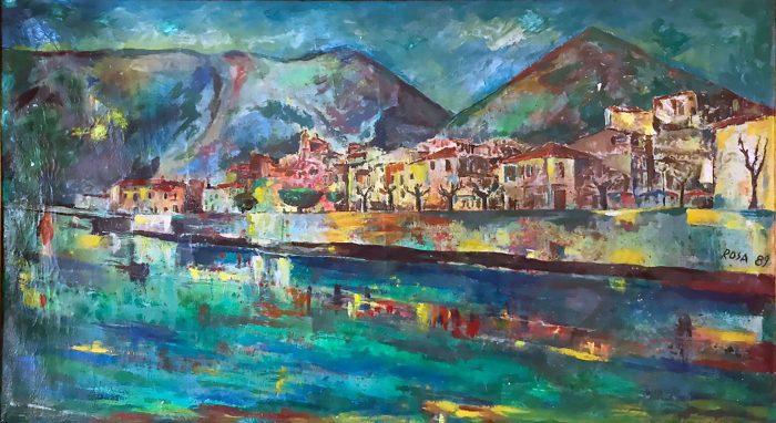 Sora, Canceglie, 1989 - 220x120 cm