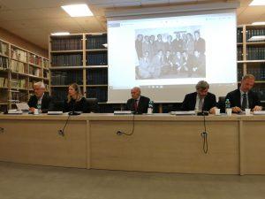 Relatori: Ing. Belli, Prof.ssa Treglia, Rosa, dott. Ruberti, dott. Ciaccirelli, dott. Borghese
