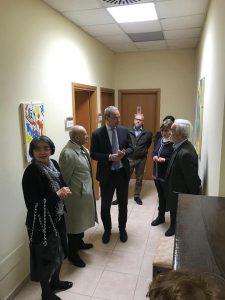 Michele Rosa con la rappresentanza universitaria ed A.Borghese