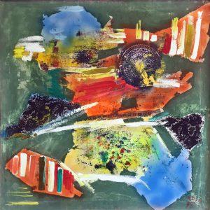 Astratto_1, 1998 - 100x100 cm