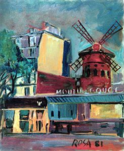 Parigi_Moulin Rouge_01, 1981 - 50x60 cm