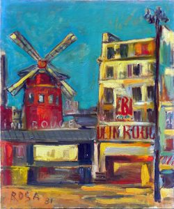 Parigi_Moulin Rouge_02, 1981 - 50x60 cm