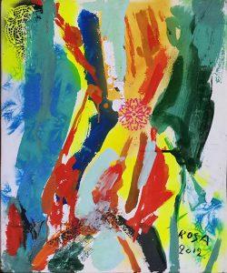 13) Astratto_6, 2012 - 50 x 60 cm