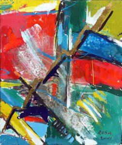 4) Astratto_2, 2001 - 50 x 59 cm