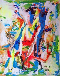 12) Astratto_5, 2012 - 80 x 101 cm