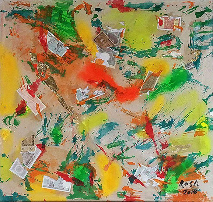 17) Vacuità_2, 2018 - 105 x 99,5 cm