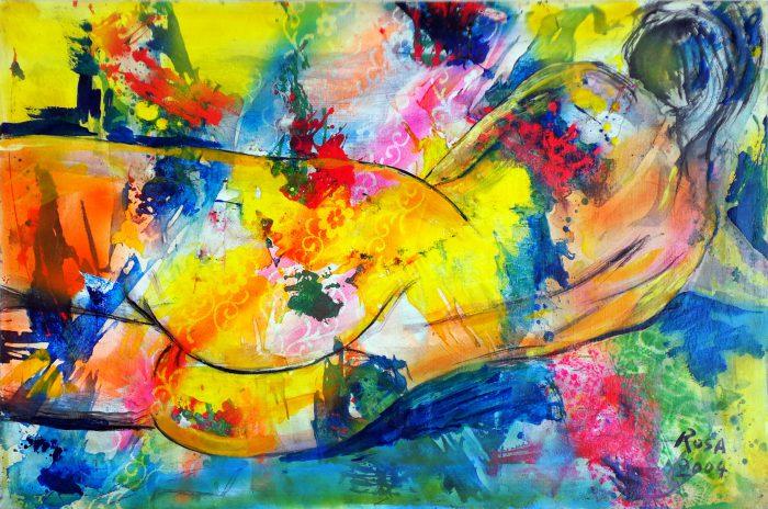 24) Nudo di donna_01, 2004 - 89 x 59 cm