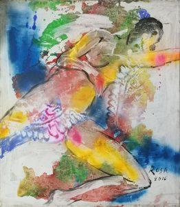 25) Nudo di donna_02, 2016 - 70 x 80 cm