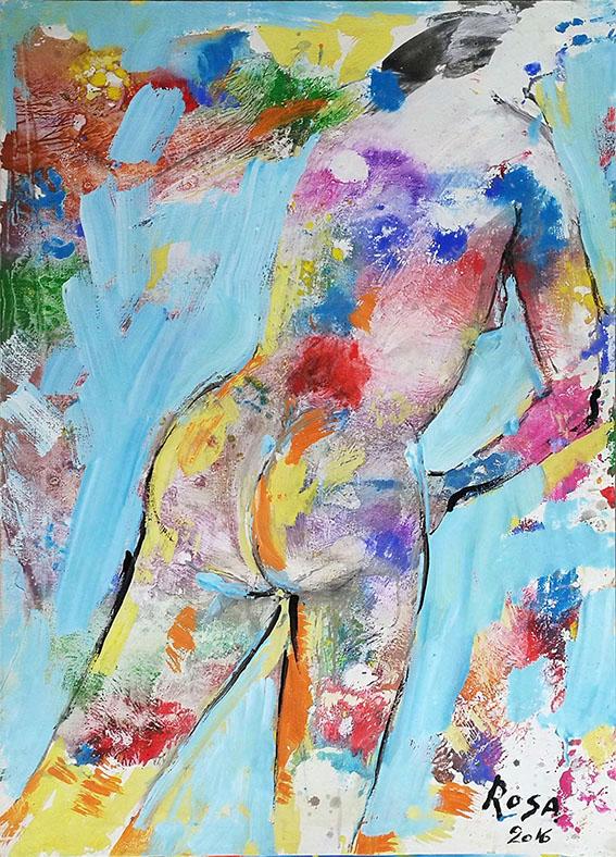 27) Nudo di donna_04-Annamaria, 2016 - 72 x 100 cm