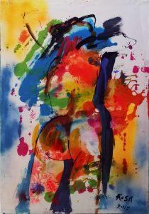 28) Nudo di donna _05, 2017 - 69,5 x 99,5 cm