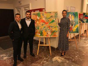 Francesco e Simone Rosa con Patrizia Venturini