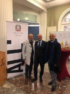 Errico ROSA con l'Arch. Raucci ed il Prof. Forgione