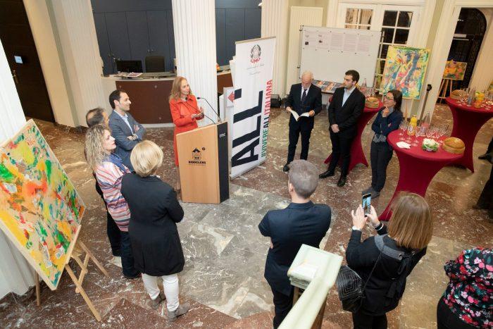 L'Ambasciatore Rossella Franchini Sherefis presenta  l'iniziativa culturale