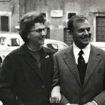 Michele ROSA con sua moglie a Roma, 1963