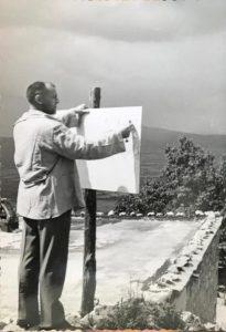 Pittura en plein air, 1962