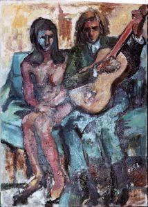Coppia con chitarra, 1967