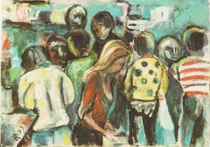 Desiderio di vita, 1967 - 70x100 cm