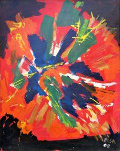 Esplosione epidemica, 2008 - 80 x 100 cm