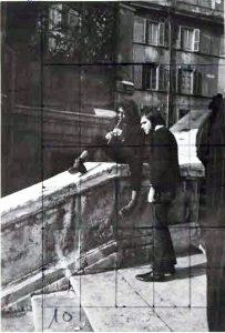 Giovani a Trinita de Monti, 1967 - FOTO-2