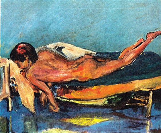 Nudo di donna: Superamento, '60''70 -  60x50 cm
