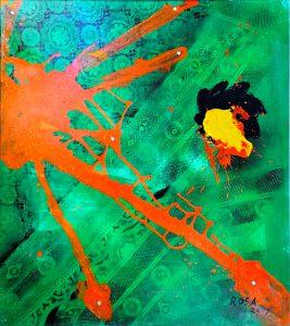 Virus, 2009 - 51x71 cm
