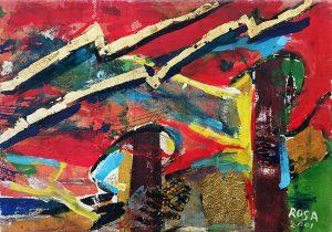 Astratto_01, 2001 - 100x70