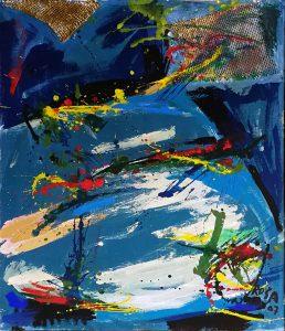 Astratto, 2007 - 100x70 cm